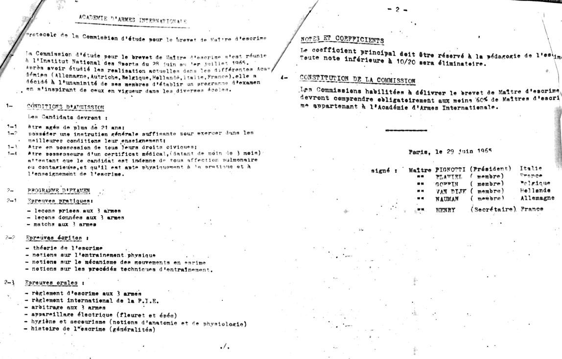 norme AAI 1965